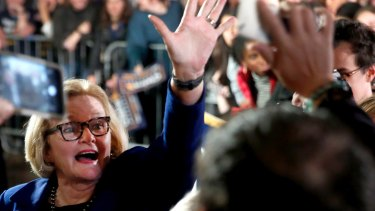 Senator Claire McCaskill of Missouri in October.