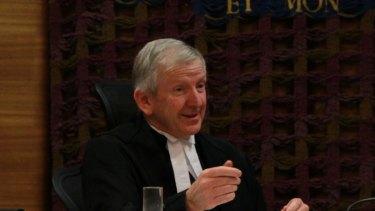 Judge Roger Dive at Parramatta Drug Court.