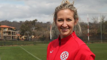 Canberra FC's Grace Gill has sent her team into the grand final.