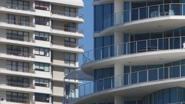 Unit sale prices are still falling in Brisbane.