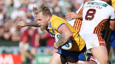 Blake Austin scored three tries in on debut for City in 2015.