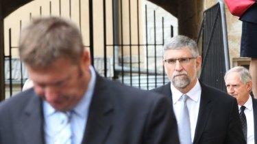 Like Kelaher, IOOF chairman George Venardos is also on leave.