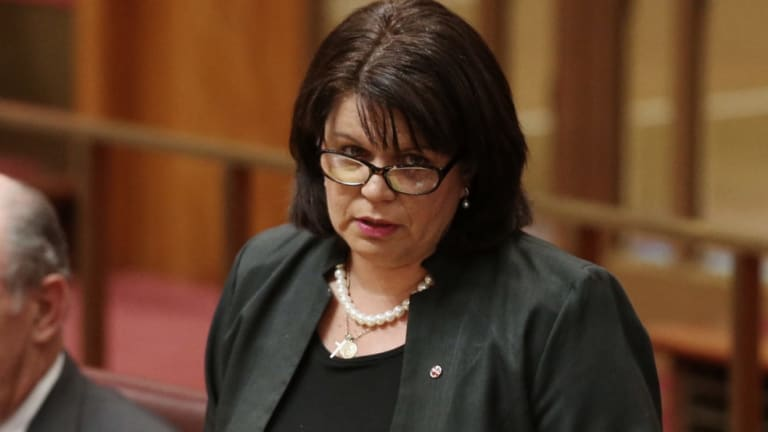 LNP Senator Joanna Lindgren's time in the Senate barely lasted a year.