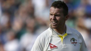 Peter Siddle is a veteran of three Ashes campaigns in England.