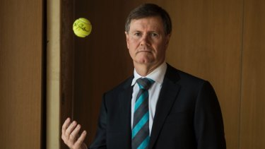 Former Tennis Australia director Steve Healy.