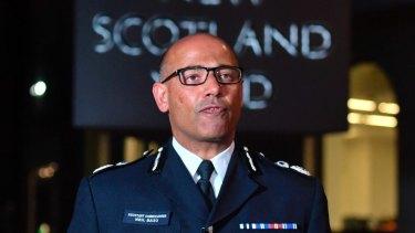 The UK's head of counter-terrorism policing Neil Basu.