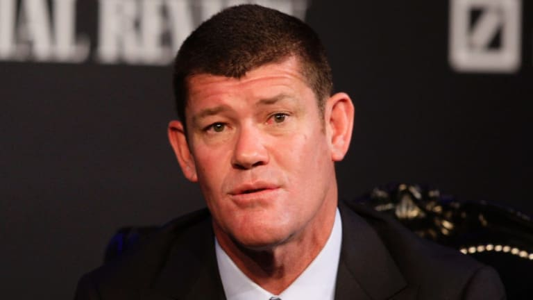 The Crown board were reluctant to talk about the James Packer biography at the company's AGM in Perth on Thursday.