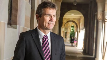 The University of Queensland's vice-chancellor Peter Høj is departing his $1.2 million job.