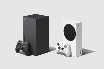 The Xbox Series X, left, and Xbox Series S are launching on Tuesday, November 10.