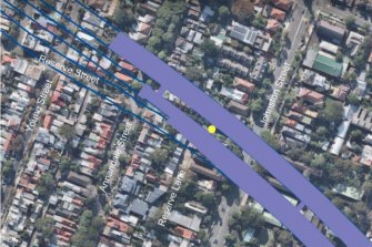 The controlled blasting trial will take place on Reserve Street, as construction on the M4-M5 link tunnels forges ahead in surrounding streets.