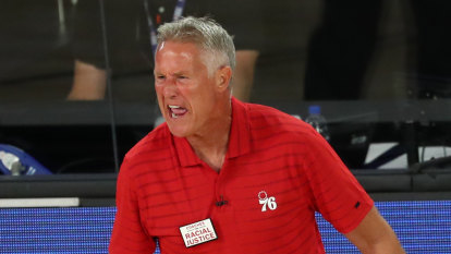 Brett Brown fired by Philadelphia 76ers but backed to be a Boomer
