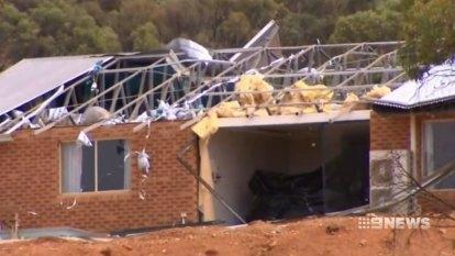 Home loses roof as mini tornado rips through Toodyay