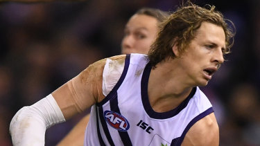 One of many in Brownlow contention: Nat Fyfe.