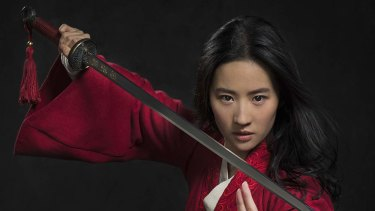 Heading for cinemas shortly after Tenet is Disney's Mulan starring Yifei Liu.