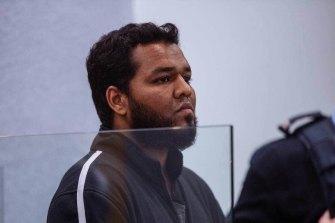 Auckland terrorist Ahamed Aathill Mohammad Samsudeen.