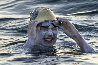 Swimmer Sarah Thomas successfully completed four crossings of the English Channel.