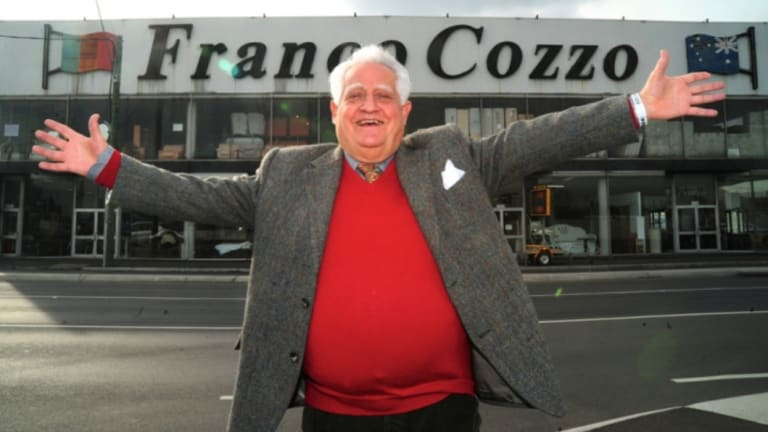 Furniture dealer Franco Cozzo is finally leaving Footscray.