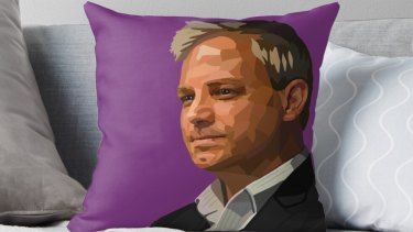 A man for all seat ons: The sought-after Sutton cushion.