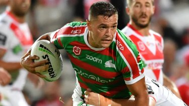 Braidon Burns is the heir-apparent to Greg Inglis' No.3 jumper at South Sydney.