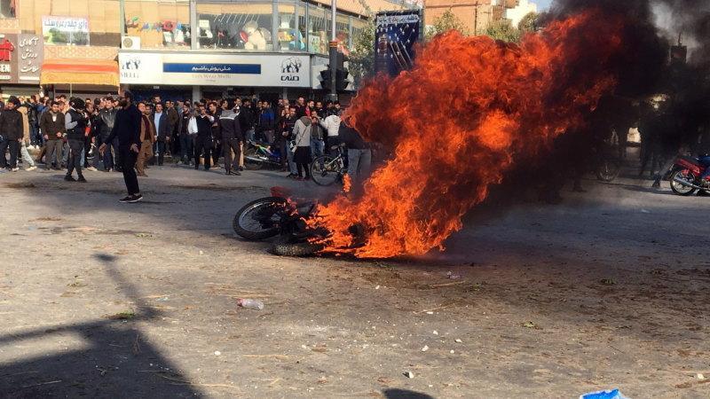Rising petrol prices fuel violent protests in Iran