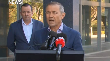 WA Health Minister Roger Cook says 97 per cent of the recorded COVID-19 cases have recovered but living with coronavirus was the 'new normal'.