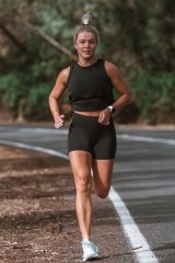 Melbourne-based runner Lucy Young says virtual runs still allow for a sense of community.