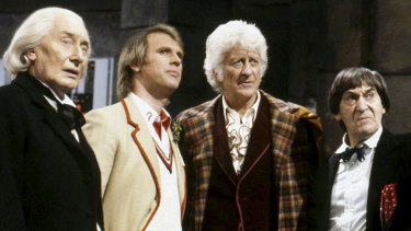 Terrance Dicks' magnum opus: The Five Doctors.