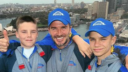 The Goss: David Beckham's run-in with Sydney paparazzi