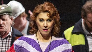 Kelley Abbey plays Billy's dance teacher Mrs Wilkinson in Billy Elliot.