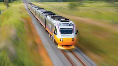 Queenslanders will not know if Fast Train is viable until after poll