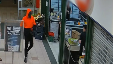 Police want to speak to this man in relation to the robberies.