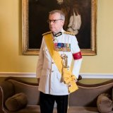 Major David Rankin-Hunt, aka official protocol adviser on The Crown.