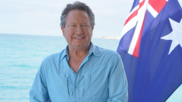 Andrew Forrest has been lobbying crossbenchers to vote with Labor and the Greens.
