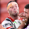 After raging at Robinson decision, refreshed Cordner is ready for Roosters return