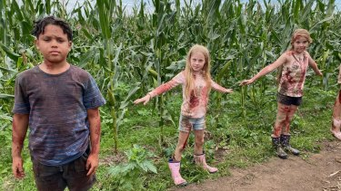 Managed to shoot during lockdown: Children of the Corn.