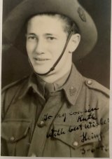 Heinz Jacobius enlisted in the Australian army.