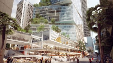 AMP Capital's Quay Quarter Tower at Sydney's Circular Quay will offer dedicated co-working floors.