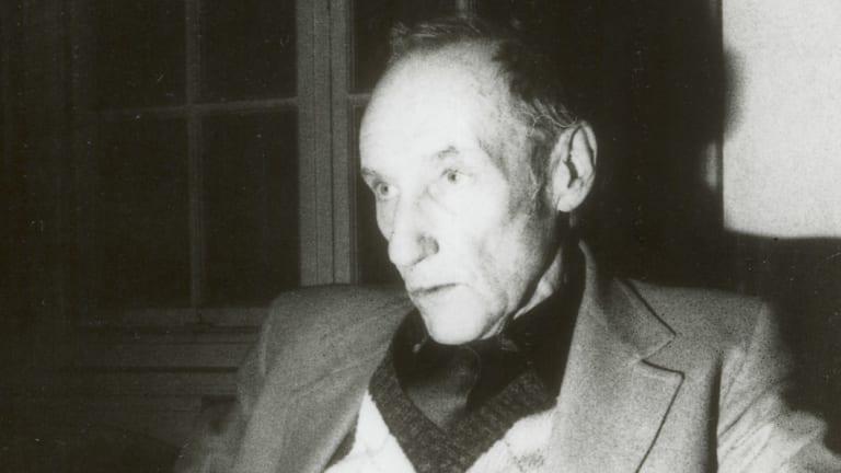 Author William Burroughs.