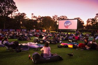 The Moonlight Cinema returns to Centennial Park this summer.