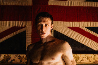 George MacKay stars as Ned in Justin Kurzel's True History of the Kelly Gang.