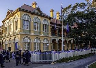 Brisbane Girls Grammar School in Spring Hill.