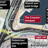 A new motorway overpass will be built in Sydney's inner west in an expansion of the controversial WestConnex project, which critics claim will create an eyesore akin to the Cahill Expressway.