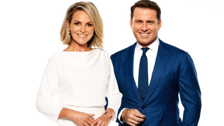 Today hosts Georgie Gardner and Karl Stefanovic.
