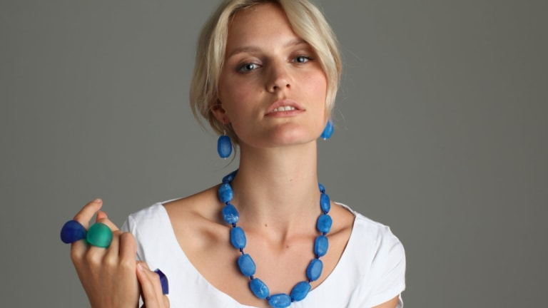 Polka Luka's range of contemporary jewellery will be featured in 3 Days of Design.