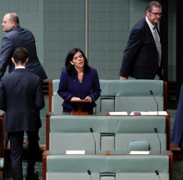 Julia Banks announces her decision to quit the Liberal Party over its treatment of women and join the crossbench in November 2018. But are men listening?