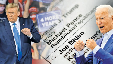Donald Trump and Joe Biden are set to face off in the first of the Presidential debates this week.