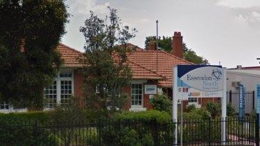 Asbestos was found in a classroom at Essendon North Primary School earlier in March.