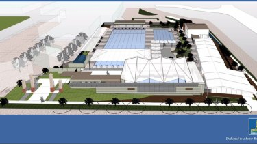 There will be an $8 million upgrade to Langlands Park Memorial Pool.