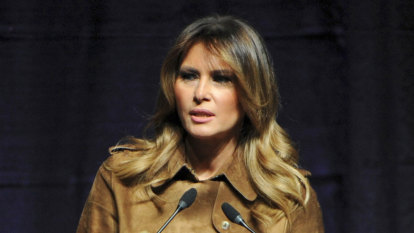 Melania Trump booed at Baltimore youth event