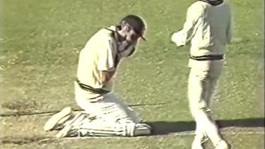 Geoff Lawson had his jaw broken by a Curtley Ambrose bouncer in 1988.